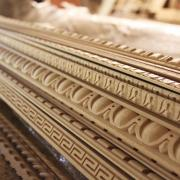 Carved moldings for furniture