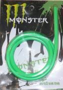 The green 4mm fuel hose (silicone) 1 meter